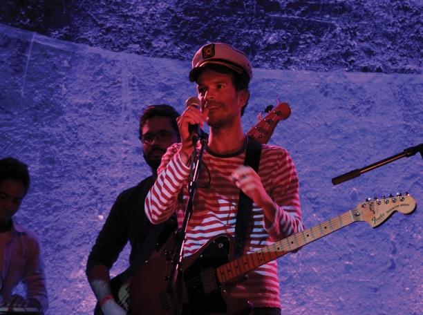 Monareta, hip hop et Cumbia venu de Colombie, le pays invité de l'édition 2012.