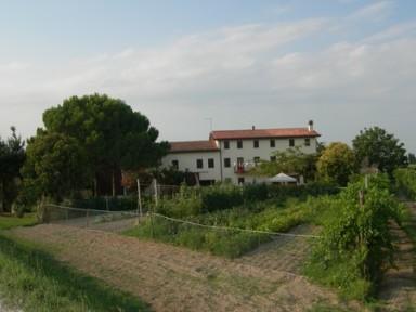 """La casa veneta avec son """"orto"""" et sa vigne. Copyright JFK"""