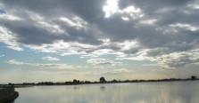 Les ciels immenses et changeants de la Lagune.