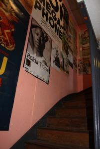 l'escalier qui permet de rejoindre Zutic Productions depuis La Coursive.