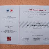 La labellisation comme Pole de coopération économique va permettre à La Coursive de poursuivre son action.