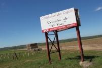 Sur le plateau de La Cras, la vigne cohabite avec des productions céréalières